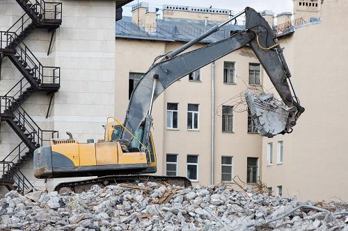 Entreprise de démolition